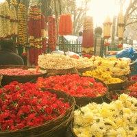 Photo taken at Gandhi Bazaar by Anu R. on 2/23/2013