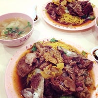 Photo taken at Tai Seng Noodle House by Addy T. on 3/24/2014