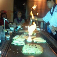 Photo taken at Wasabi Japanese Steakhouse by April M. on 10/27/2012