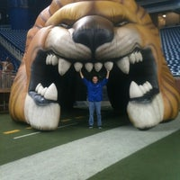 Photo taken at Ford Field by Marc Z. on 10/3/2012