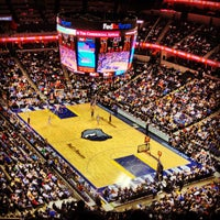 Photo taken at FedExForum by Kevin D. on 2/11/2013