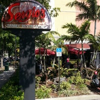 "Photo taken at Sergio's Coral Way by WILFREDO ""WILO"" R. on 3/23/2013"