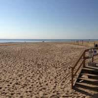 Photo taken at 22nd Street Beach by Christopher H. on 9/30/2012