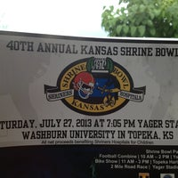 Photo taken at Yager Stadium by Penny S. on 7/27/2013
