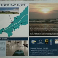 Photo taken at Crantock Bay Hotel Newquay by Chris .A. d. on 8/17/2011