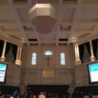 Photo taken at First Baptist Church by Eric R. on 10/21/2012