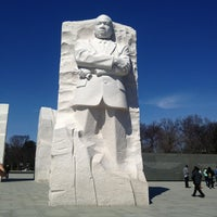 Photo taken at Martin Luther King, Jr. Memorial by Krissy M. on 3/10/2013