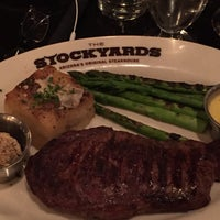 Photo taken at Stockyards Steakhouse by Guy J. on 11/18/2015