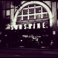 Photo taken at Landmark's Sunshine Cinema by Mary D. on 10/1/2012