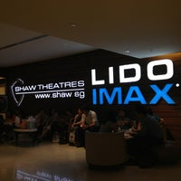 Photo taken at Shaw Theatres by Eve M. on 7/31/2013