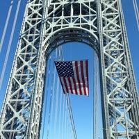 Photo taken at George Washington Bridge by Jiyoon C. on 4/15/2013