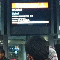 Photo taken at Emirates Checkin Counter by Fuad S. on 11/29/2012