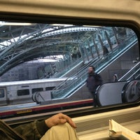 Photo taken at LIRR - Jamaica Station by Jay Y. on 3/7/2013