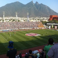 Photo taken at Estadio Tecnológico by Tom L. on 5/8/2013