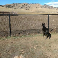Photo taken at Foothills Community Dog Park by James M. on 11/18/2012