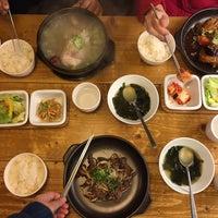 Photo taken at Eid (Korean Muslim Restaurant) by Hanim H. on 11/10/2016
