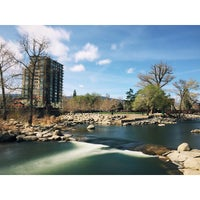 Photo taken at Truckee River by Tucker S. on 3/21/2015