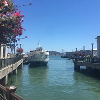 Photo taken at Central Embarcadero Piers by Theo G. on 8/8/2016