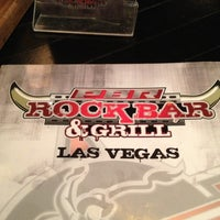 Photo taken at PBR Rock Bar & Grill by G E. on 10/5/2012