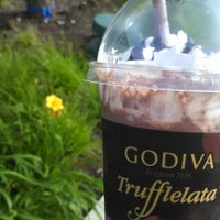 Photo taken at Godiva Chocolatier by Jen B. on 6/8/2014
