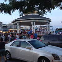 Photo taken at Rehoboth Beach Bandstand by SallynotSarah L. on 9/1/2013