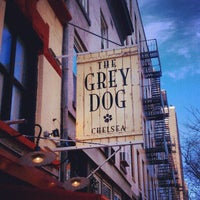 Photo taken at The Grey Dog by Corey W. on 2/17/2013