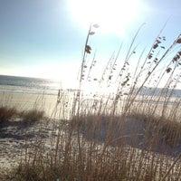 Photo taken at Burkes Beach by Sarah K. on 11/22/2012