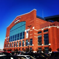Photo taken at Lucas Oil Stadium by Kira on 10/21/2012