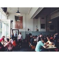Photo taken at Oddfellows Cafe & Bar by Corbin L. on 8/10/2013