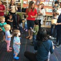 Photo taken at San Carlos Library by Olga S. on 6/8/2016