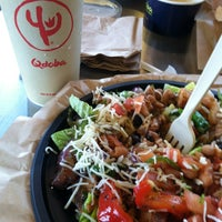 Photo taken at Qdoba Mexican Grill by Leona J. on 1/13/2013