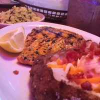 Photo taken at Logan's Roadhouse by Quay T. on 1/4/2014