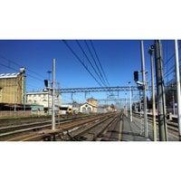 Photo taken at Stazione Vercelli by Thomas R. on 3/17/2014