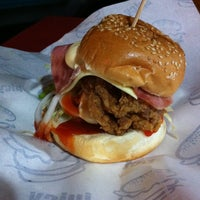 Photo taken at Burger Bakar Kaw Kaw by Nicola K. on 10/31/2012
