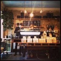 Photo taken at Bonanza Coffee by Sasha K. on 2/12/2013
