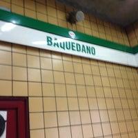 Photo taken at Metro Baquedano by Julio A. on 3/15/2013