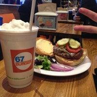 Photo taken at 67 Burger by Daouna J. on 2/24/2013