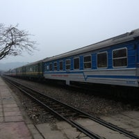 Photo taken at Ga Lào Cai (Lao Cai Station) by Alon C. on 1/15/2013
