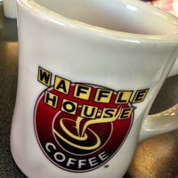 Photo taken at Waffle House by April on 5/25/2013