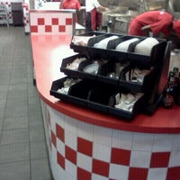 Photo taken at Five Guys by Justus H. on 10/14/2012