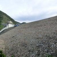 Photo taken at 阿木川ダム by KS999 on 10/14/2012