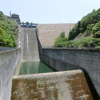 Photo taken at 阿木川ダム by KS999 on 5/18/2013