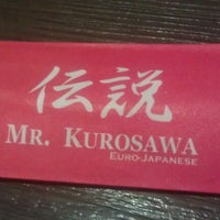 Photo taken at Mr. Kurosawa by Lhon C. on 10/19/2012