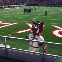 Photo taken at War Memorial Stadium / AT&T Field by Michelle C. on 10/27/2012