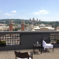 Photo taken at Hotel Catalonia Barcelona Plaza by Anna Sashina on 7/26/2013