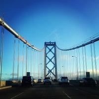 Photo taken at San Francisco-Oakland Bay Bridge by Jonathan R. on 7/10/2013