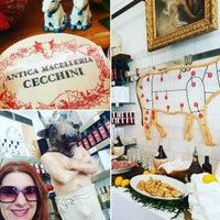 Photo taken at Antica Macelleria Cecchini by Sandra A. on 10/19/2016