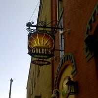 Photo taken at Goldy's Breakfast Bistro by Steve P. on 7/5/2013