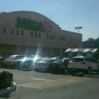 Photo taken at Mega Comercial Mexicana by Lindoro C. on 11/18/2012