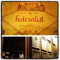 Photo taken at The Federalist by A P. on 11/15/2012
